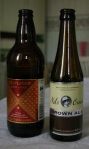 NO Brown Ale samt SK Höstlager