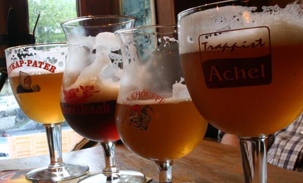 Beers in Belgium