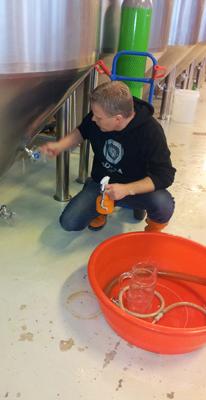 Förberedelse för provsmakning av öl, Södra Maltfabriken