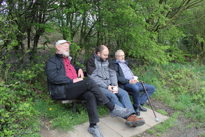 Öldrickare i parken