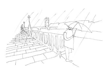 Regn i London