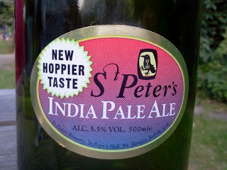St Peters IPA New Hoppier Taste
