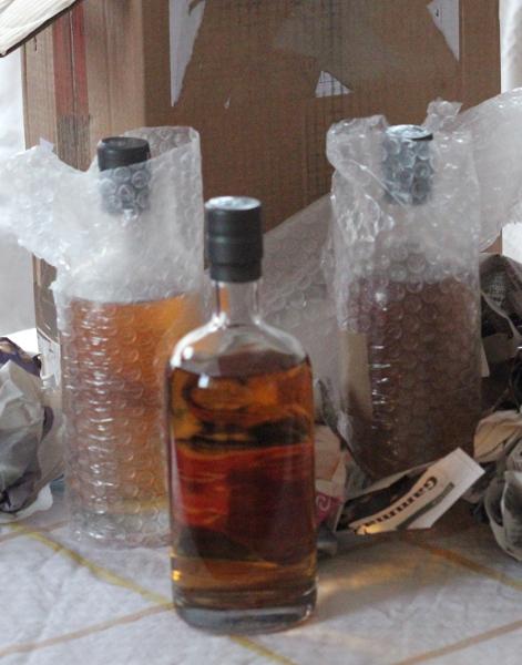 Flaskorna i paketet