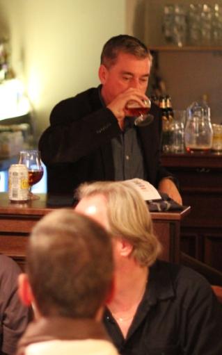 Mr John Keeling, former Head brewer, Fuller's