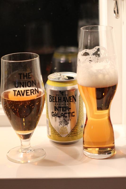 Belhaven Intergalatic, skillnaden på två glas, Karlströms Malt