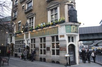 Black Friar, utsidan, London, pub, Karlströms Malt