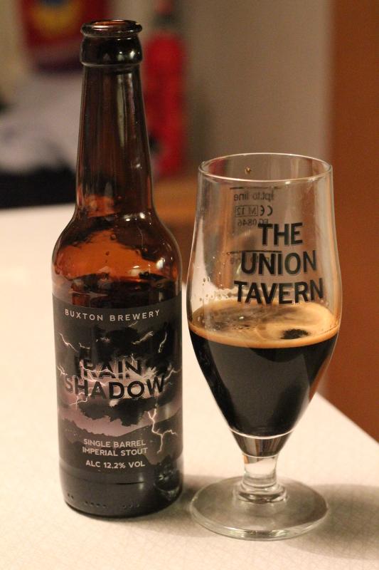 Buxton Single Barrel Rain Shadow, Engelska öl, Karlströms Malt