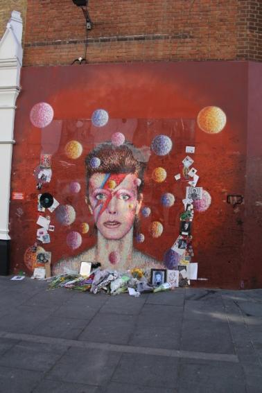 David Bowie, London, Karlströms Malt