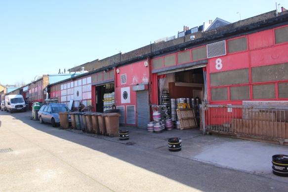 Hmmerton Brewery, utsidan, London, Karlströms Malt
