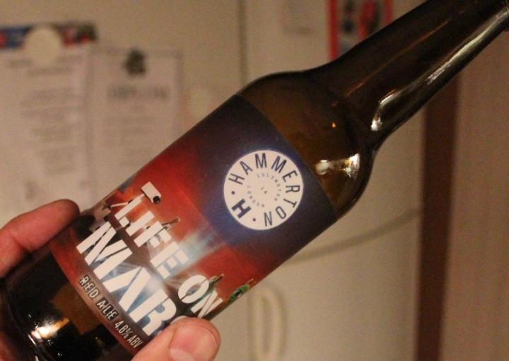 Life on Mars, Hammerton Brewery, Karlströms Malt