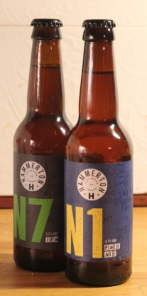 N1 och N7, Hammerton Brewery, Flaskorna, Karlströms Malt