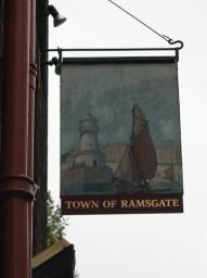 pubskylt-town-of-ramsgate-london-karlstroms-malt