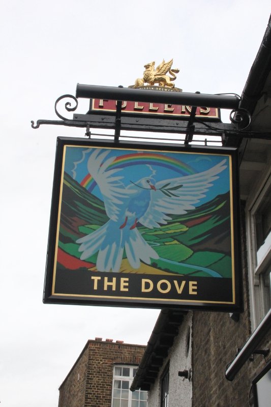 The Dove, utmed Themsen, London, Fuller's, Karlströms Malt