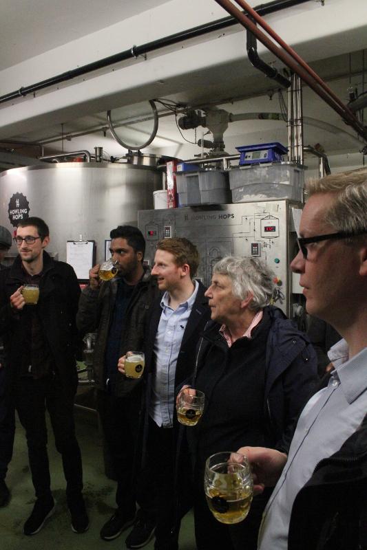Bryggerivisning, Howling Hops, ansikten, London, Karlströms Malt