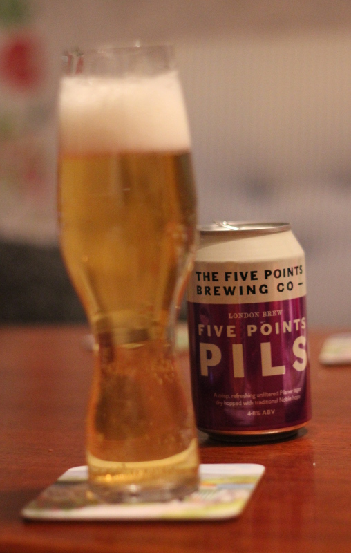 Five Points Pils, Karlströms Malt, burköl