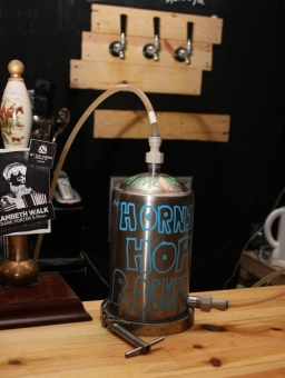 Hopprocket, By The Horns, London, tap room