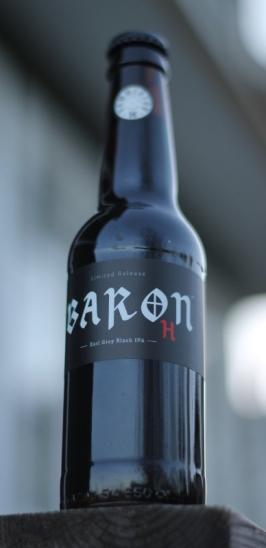 Baron H, Hammerton, ölflaska, Karlströms Malt