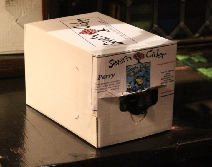 Severn Cider, Perry, Box, Perry in the box, The Harp, Karlströms Malt