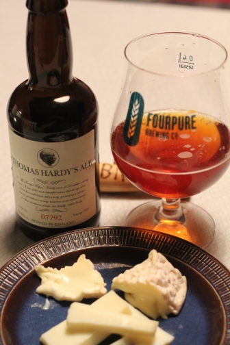 Thomas Hardy's Ale, Karlströms Malt, med ost