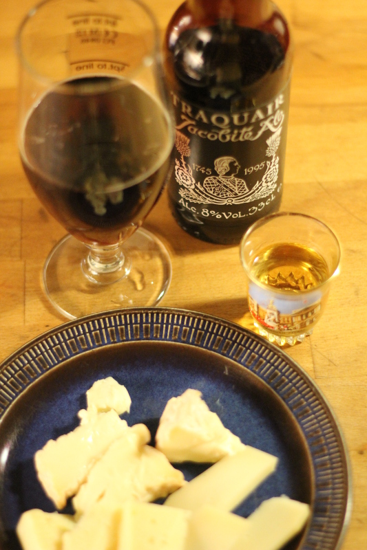 Traquair Jacobite Ale, ost och öl, Skotskaöl, Karlströms Malt