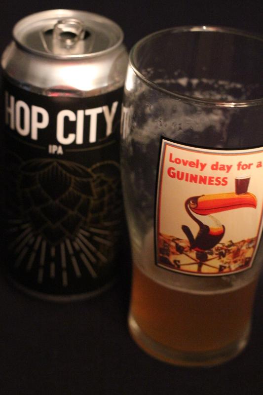 Hop City och GUinnessglas, fel glas, karlströms Malt