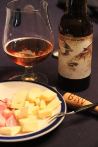 King Slayer, Buxton Brewery, skinka och ost, Karlströms Malt