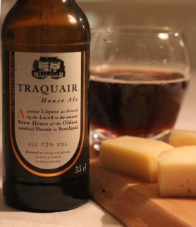 Traquair House Ale och ost, Karlströms Malt