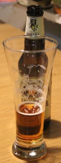 Banana Bread Beer, bakom glaset, Karlströms Malt