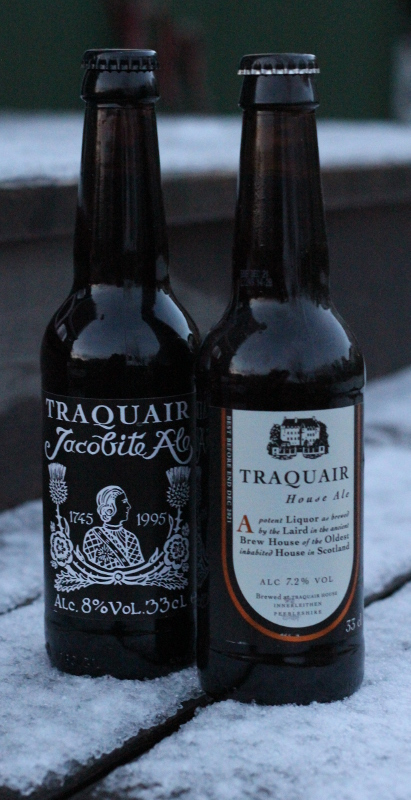 Traquair House, Jacobite Ale och House Ale, Karlströms Malt