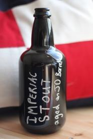 Flaskan, By The Horns, Imperial Stout, Ekfat, Karlströms Malt