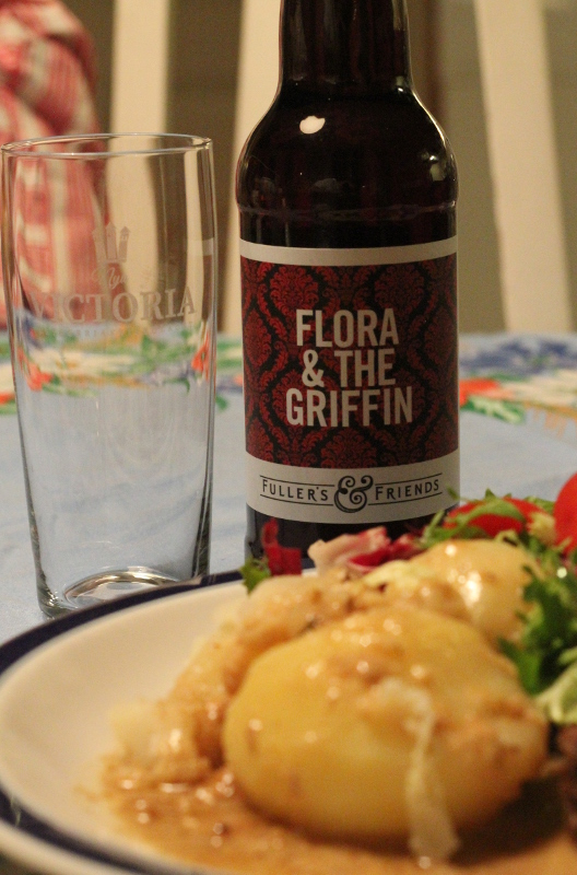 Flora and The Griffin, fläskkotlett, Karlströms Malt