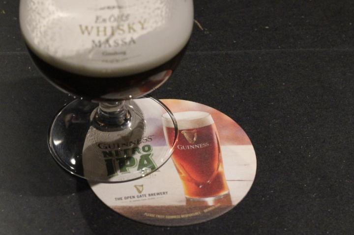 Guinness Nitro IPA, ölunderlägg, Karlströms Malt