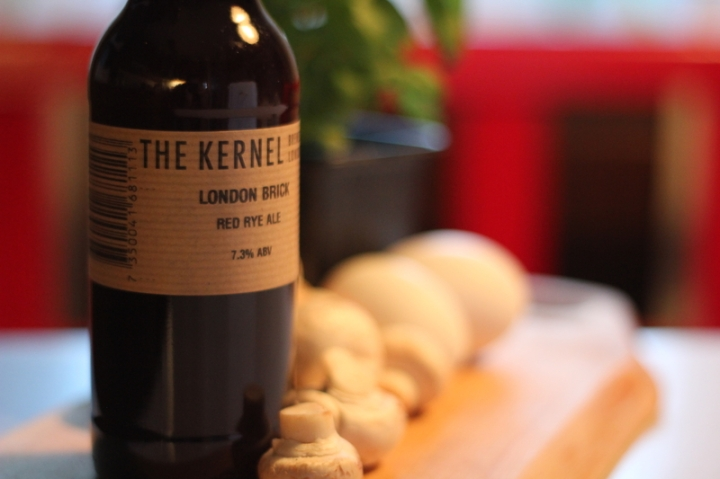 London Brick, Red Rye Ale,The Kernel, Karlströms Malt ver 2
