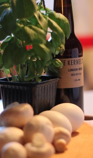 London Brick, Red Rye Ale,The Kernel, Karlströms Malt