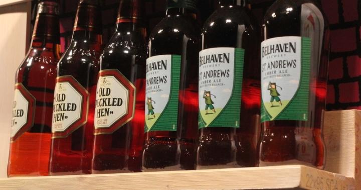 Old Speckled Hen och St Andrews Ale, Karlströms Malt