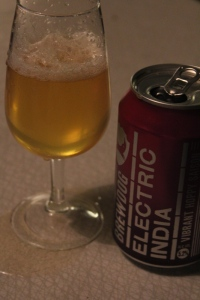 Electric India, Brew Dog, Karlströms Malt, ölglas, burk
