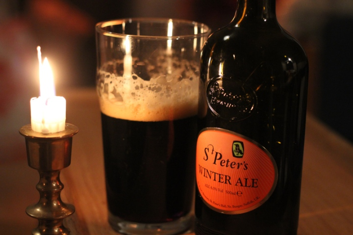 St Peter's Winter Ale, ölflaska, Karlströms Malt