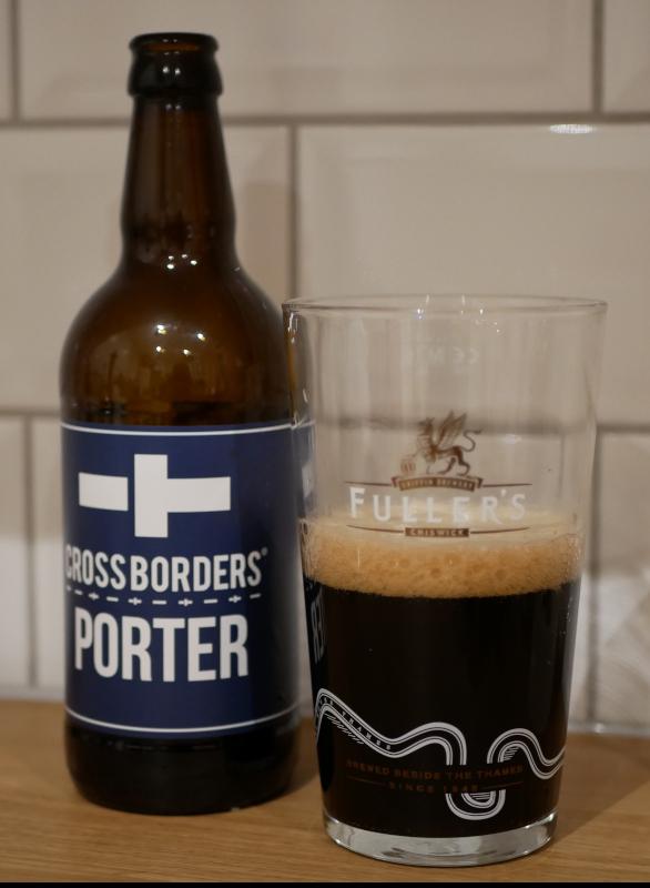 crossborders, porter, karlströms malt, flaska