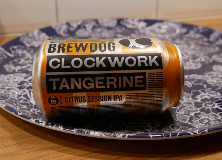 BrewDog Clockwork Tangerine, burk, Karlströms Malt