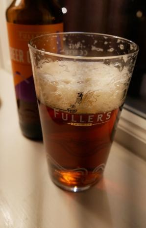 Fuller's Beer One, flaska, ölglas, Karlströms Malt
