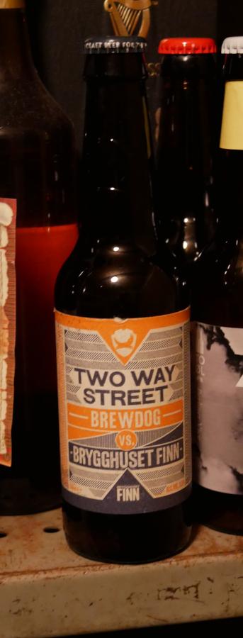 Two Way Street, BrewDog, Brygghuset Finn, flaska, Karlströms Malt