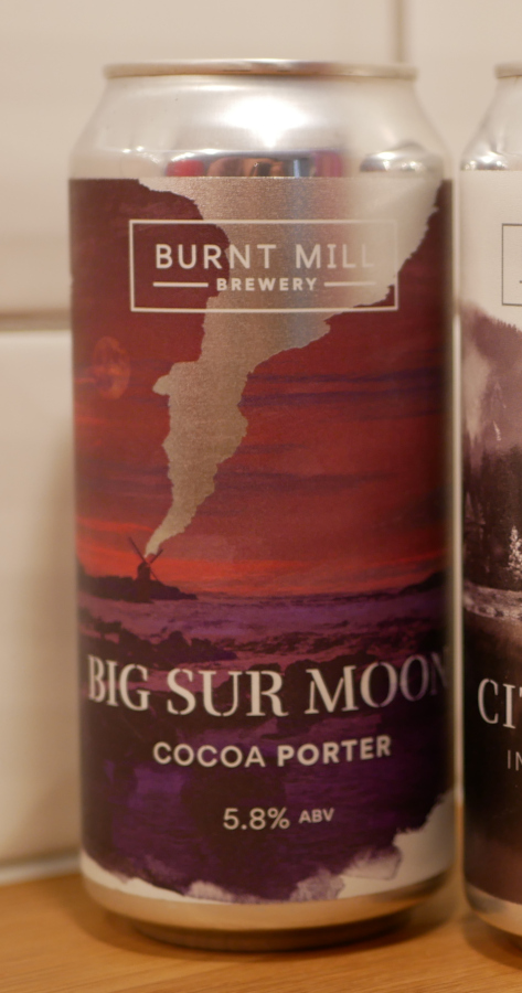 Big Sur Moon, Burk, Burnt Mill, Karlströms Malt