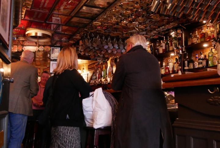 Charlie's Bar, Köpenhamn, bardisken, pubbilder, Karlströms Malt