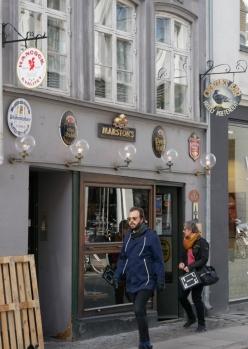 Charlie's Bar, Köpenhamn, utsidan, Karlströms Malt
