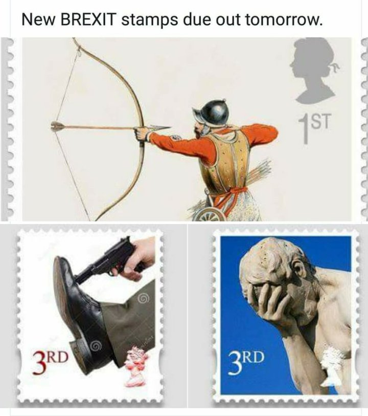 Brexit Stamps